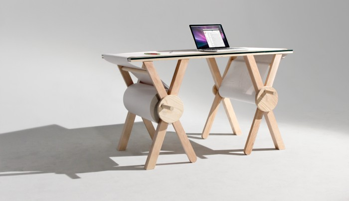 The Analogue Table by Kirsten Camara is designed to let you record all the thoughts and ideas that pass through your mind.