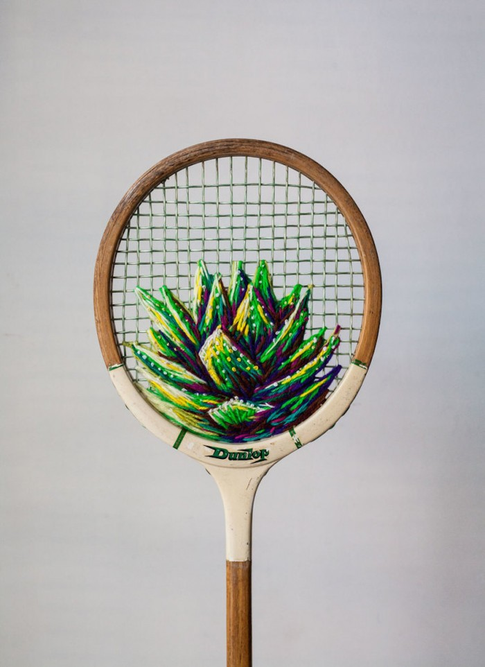 Aloe racket by Danielle Clough