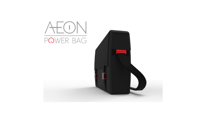 Shalton Mothwa is prototyping Aeon Power, a laptop bag capable of harnessing ambient telecoms signals and converting them into electrical energy.