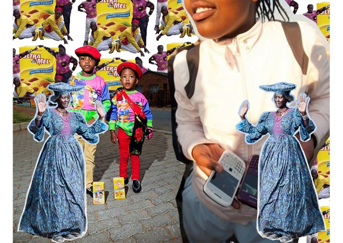 Joburg-based Tiger Maramela uses popular South African consumer products in their digital art to examine capitalism, modernisation and black masculinities
