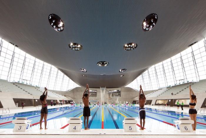 The London Aquatics Centre - Photo Credit: Luke Hayes