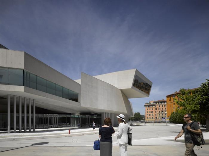 MAXXI Museum of XXI Century Art in Rome - Photo Credit: Richard Bryant