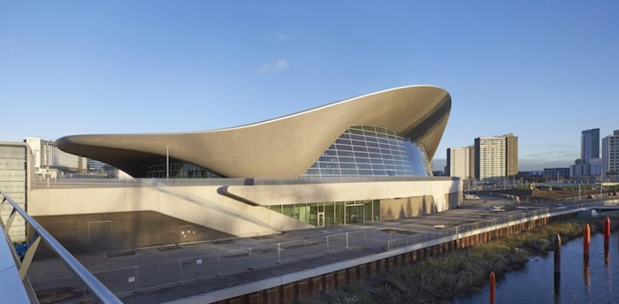 The London Aquatic Centre - Photo Credit: Hufton Crow