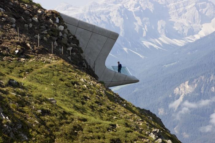 Messner Mountain Museum Corones - Photo Credit: Inexhibit