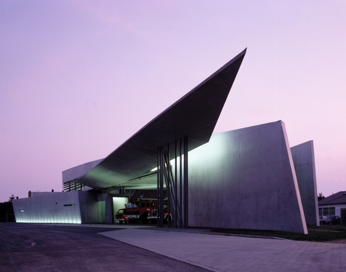 Vitra Fire Station, Weil Am Rhein in Germany - Photo Credit: Christian Richters