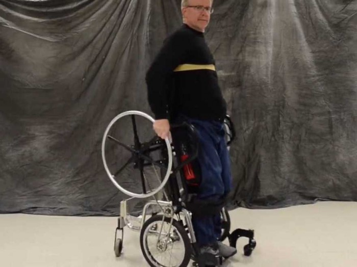 Standing Wheelchair Developed To Improve The Reach And