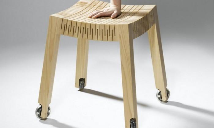 Dutch Designer Creates Flexible Wood For Furniture Range