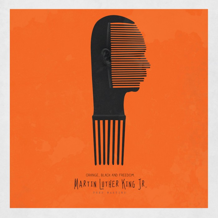 The Afro Comb Is Used By A Nigerian Artist To Celebrate African
