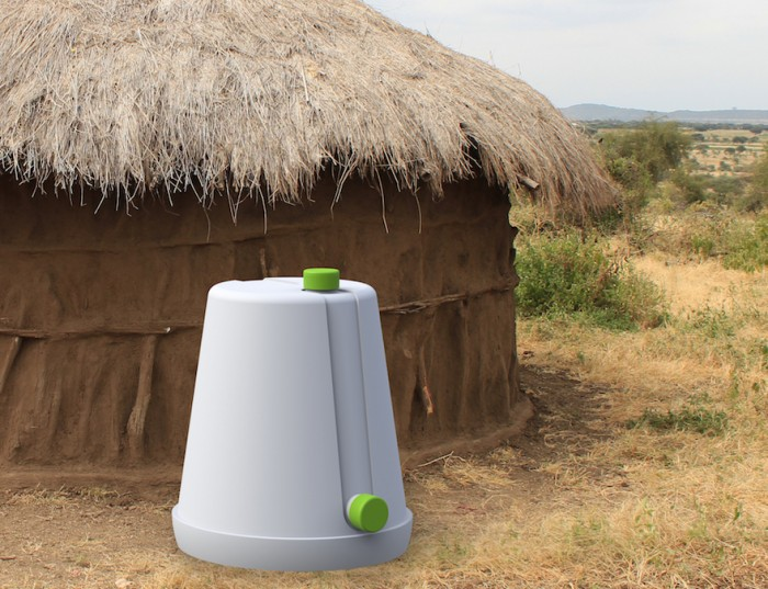 Anthony Brown has developed the Si-Low a low-cost grain storage unit & Si-Low: A low-cost grain storage unit for Africa | Design Indaba