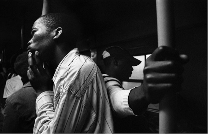 Photographer chronicles the people of Cape Town's bustling public transport system