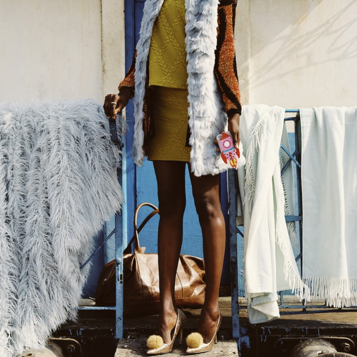 This recent winter campaign for Superbalist was shot by South African photographer Rudi Geyser against the backdrop of Dakar's old train station