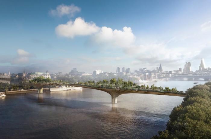 Thomas Heatherwick's Garden Bridge in London