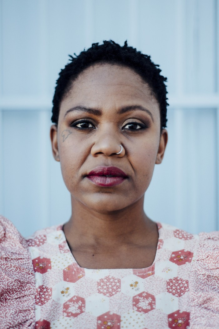 "Puleng Mongale's photo series Intimate Strangers will be released in three parts. The first part, ""When the madam is away, the help will slay"", is a social commentary on labour relationships in South Africa"