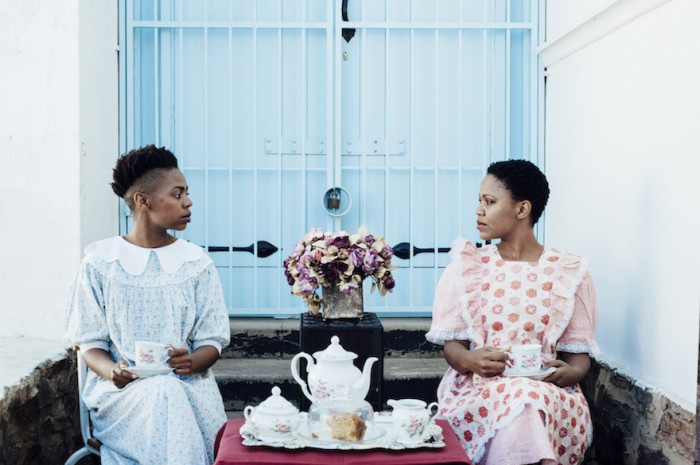 """Puleng Mongale's photo series Intimate Strangers will be released in three parts. The first part, """"When the madam is away, the help will slay"""", is a social commentary on labour relationships in South Africa"""