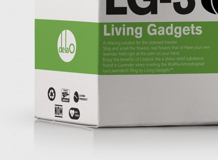 Living Gadgets packaging