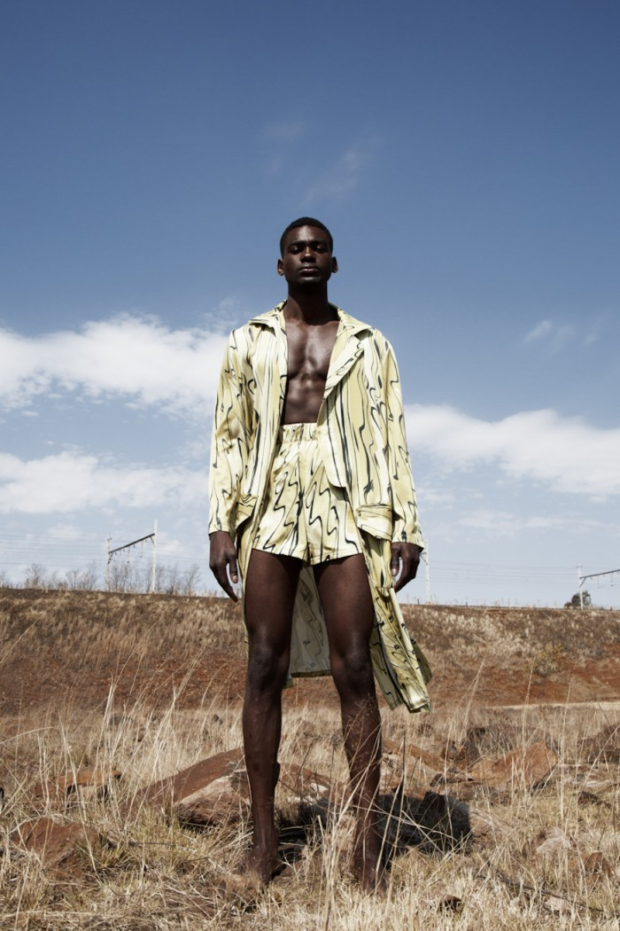 R by RICH MNISI: We share the latest lookbook from emerging South African designer Rich Mnisi. SS17 is a new collaboration with local celebrity Maps Maponyane