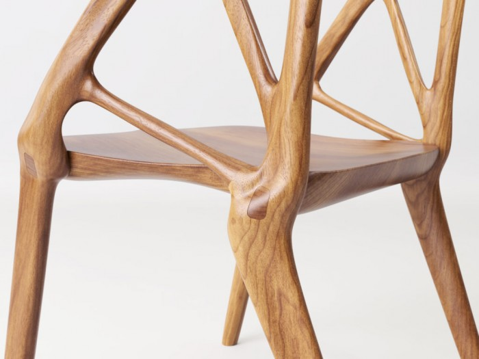 Elbo chair close up