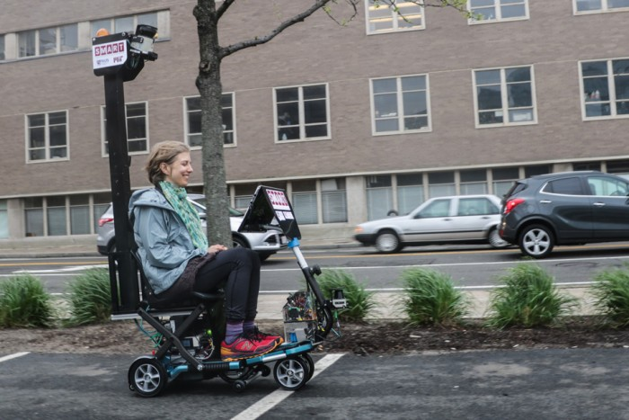 Self-driving Scooter