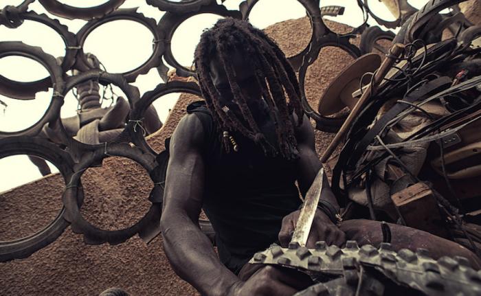 Dakar Creatives by Jean Baptiste Joire: Amadou Fatoumata Ba - Sculptor
