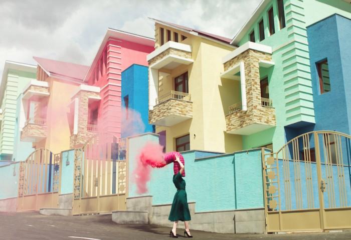 Surreal pastel scenes by Karen Khachaturov