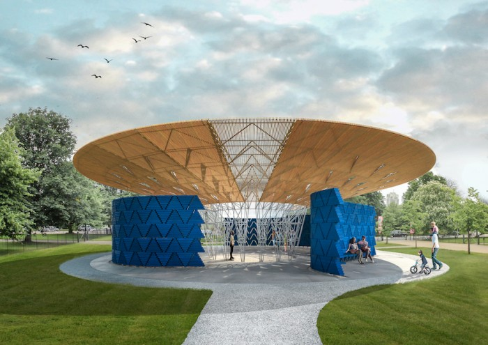 Burkino Faso architect Francis Kéré has been chosen to build the 2017 Serpentine Pavilion