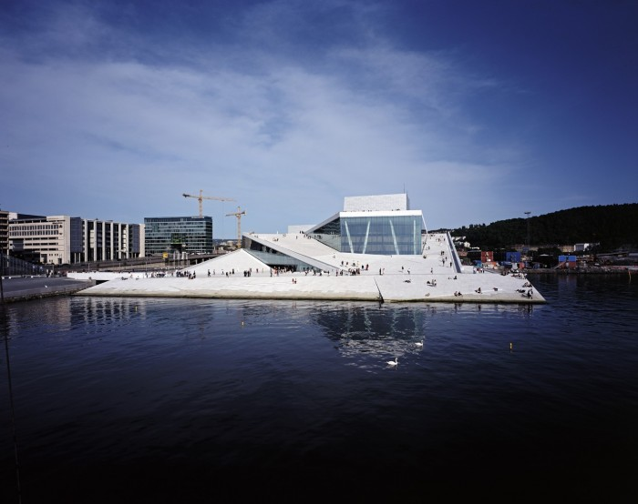 The opera house by Snøhetta