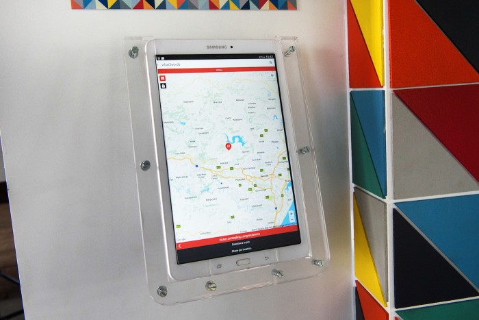 what3words GHI mobile printer