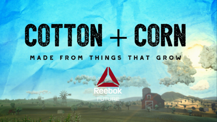Reebok's Cotton + Corn