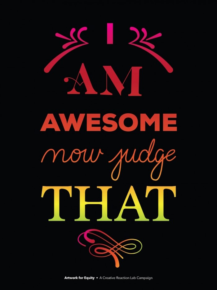 """I'm Awesome"" Design by Timothy Hykes"