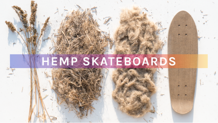 These unique skateboard decks are made of hemp natural fibres. Designed for cruising, these boards were built for the future