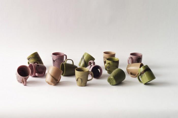 Krisztina Czika's human hair cup. Image: Margherita Soldati
