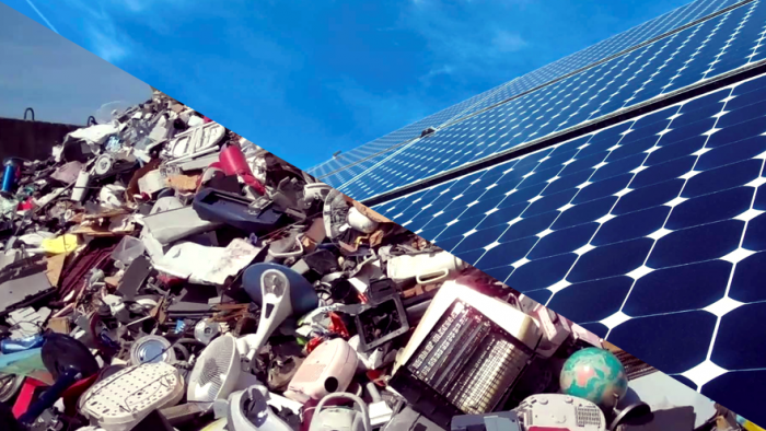 Former garbage site becomes solar plant