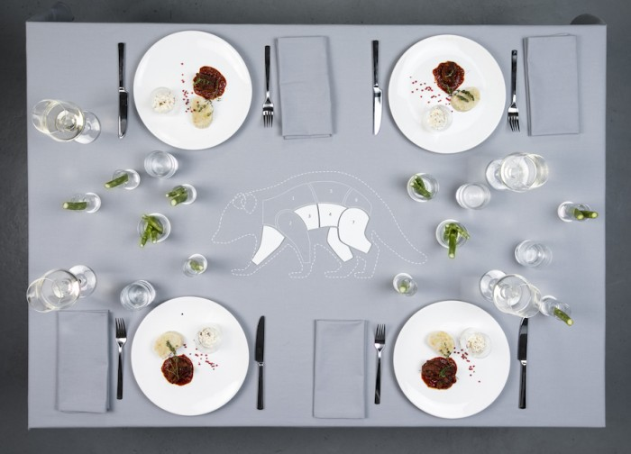 Alexandra Fruhstorfer is from the University of Applied Arts in Vienna and her project is called Menu From the Wild.