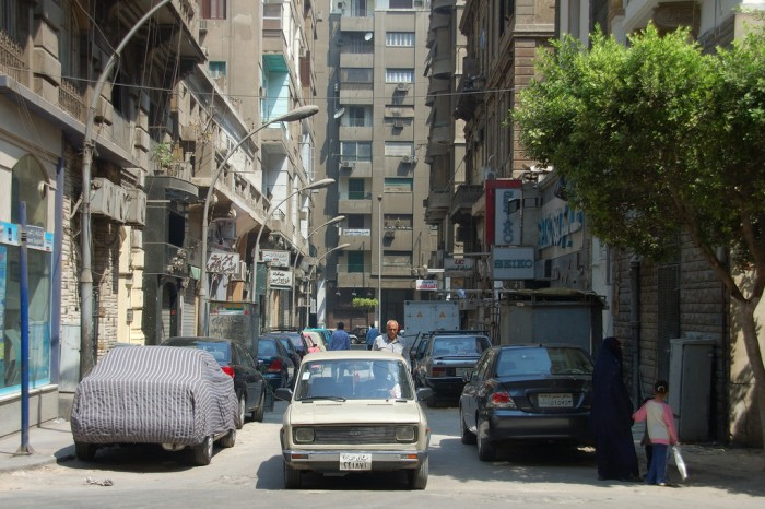 An alley in Downtown Cairo - Image Courtesy of David Evers