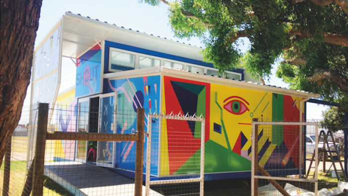 The Shout Library in Eisleben Road Primary, Mitchell's Plain.