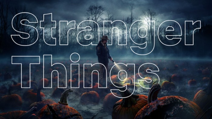 Netflix Sans on Stranger Things by Dalton Maag