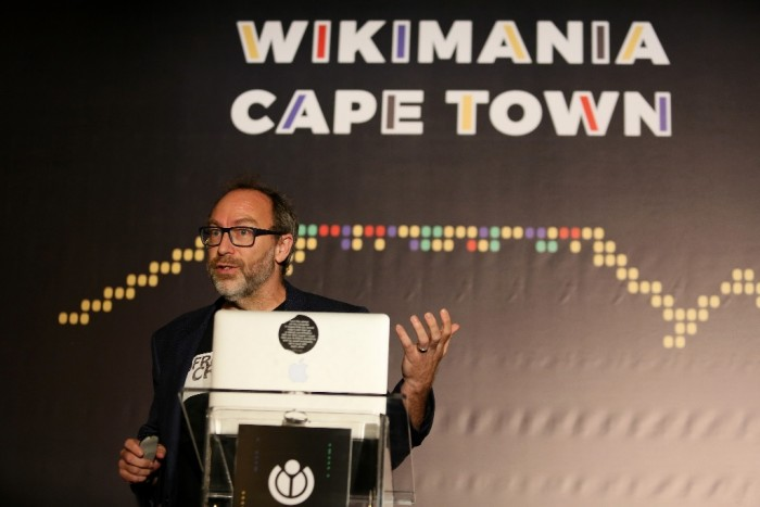 Jimmy Wale - Wikimania 2018