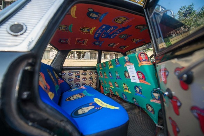 roshnee design taxi fabric