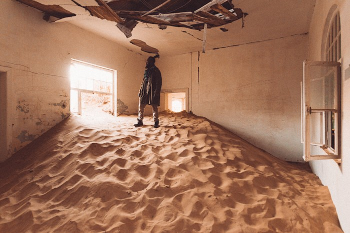 Kolmanskop, Namibia by Mutua Matheka
