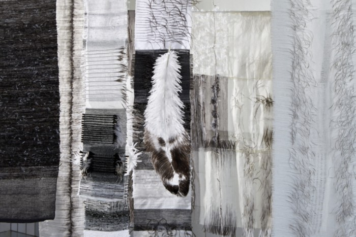 Pascale Theron's Feathered Fabrics