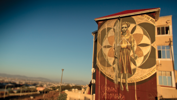 Another Light Up project by Faith XLVII in Cape Town's District 6