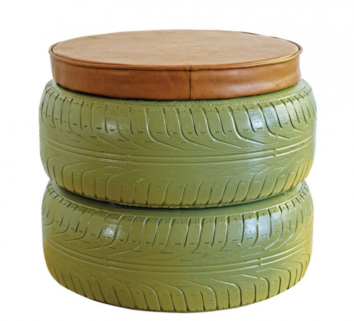 Exhibitor success story tyred furniture design indaba for Tyre furniture