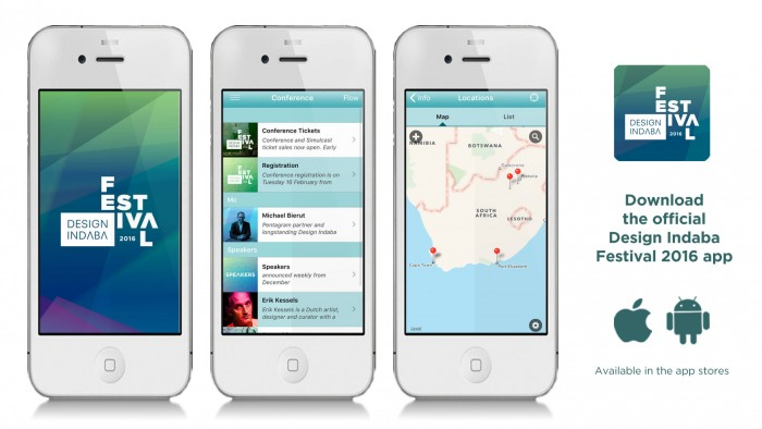 Design Indaba 2016 Festival App