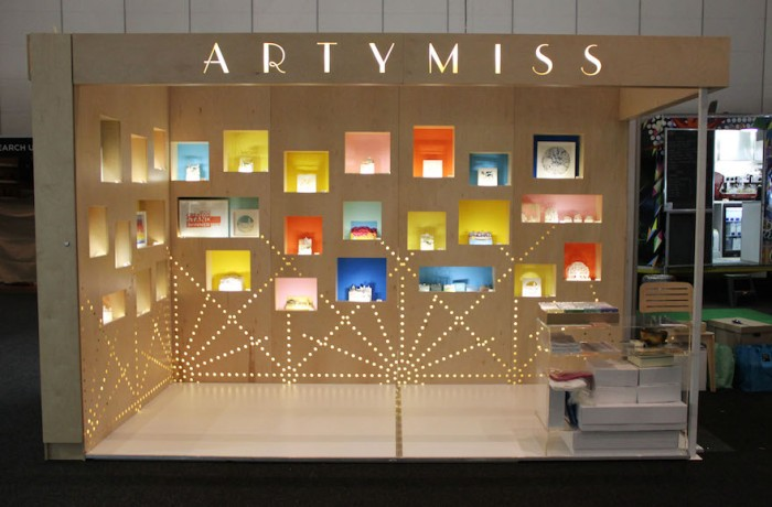 Most Creative Stand winner 2015: Artymiss