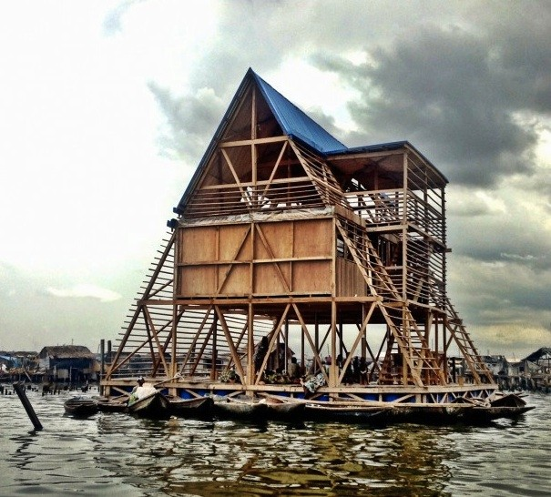 Makoko Floating School by NLÉ.