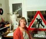 Margaret Calvert at AGI Open 2013.