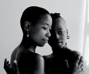 Zinzi and Tozama II Mowbray, Cape Town, 2010. Photo by: Zanele Muholi. Courtesy of Michael Stevenson Gallery.