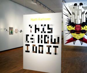 """""""This Is How I Do It"""" exhibition by Torsten and Wanja Söderberg Prize winner Hjalti Karlsson."""