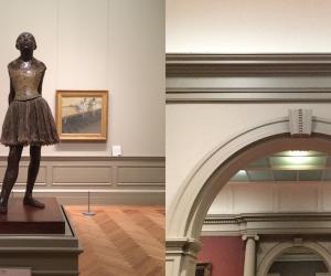 """The Little Fourteen-Year-Old Dancer"" by Edgar Degas."