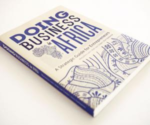 """""""Doing Business in Africa"""" cover design by K&i."""